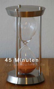 Sanduhr 45 Minuten mit eigenem Sand
